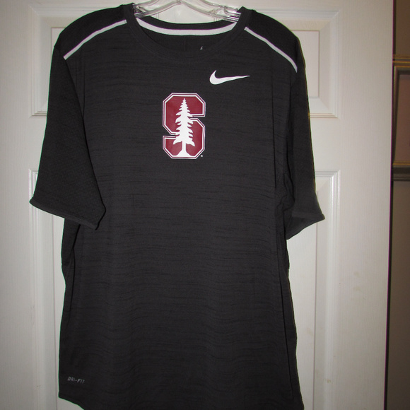 069b6528b9 Stanford Cardinal Nike Dri-Fit Mens XL Shirt Black